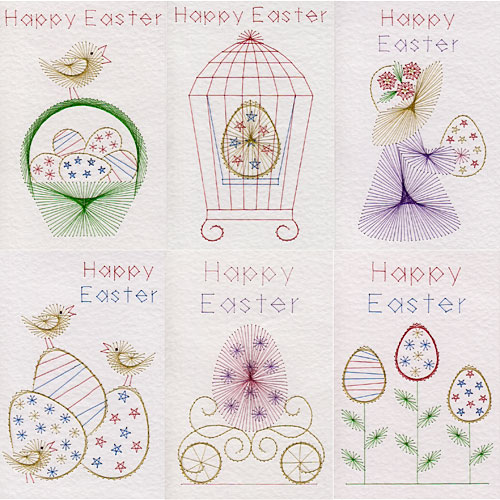 Easter Patterns Added At Stitching Cards