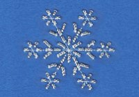 Free beaded snowflake pattern at Stitching Cards