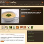 White Sage Landing - Home Page with New Design and Functionality