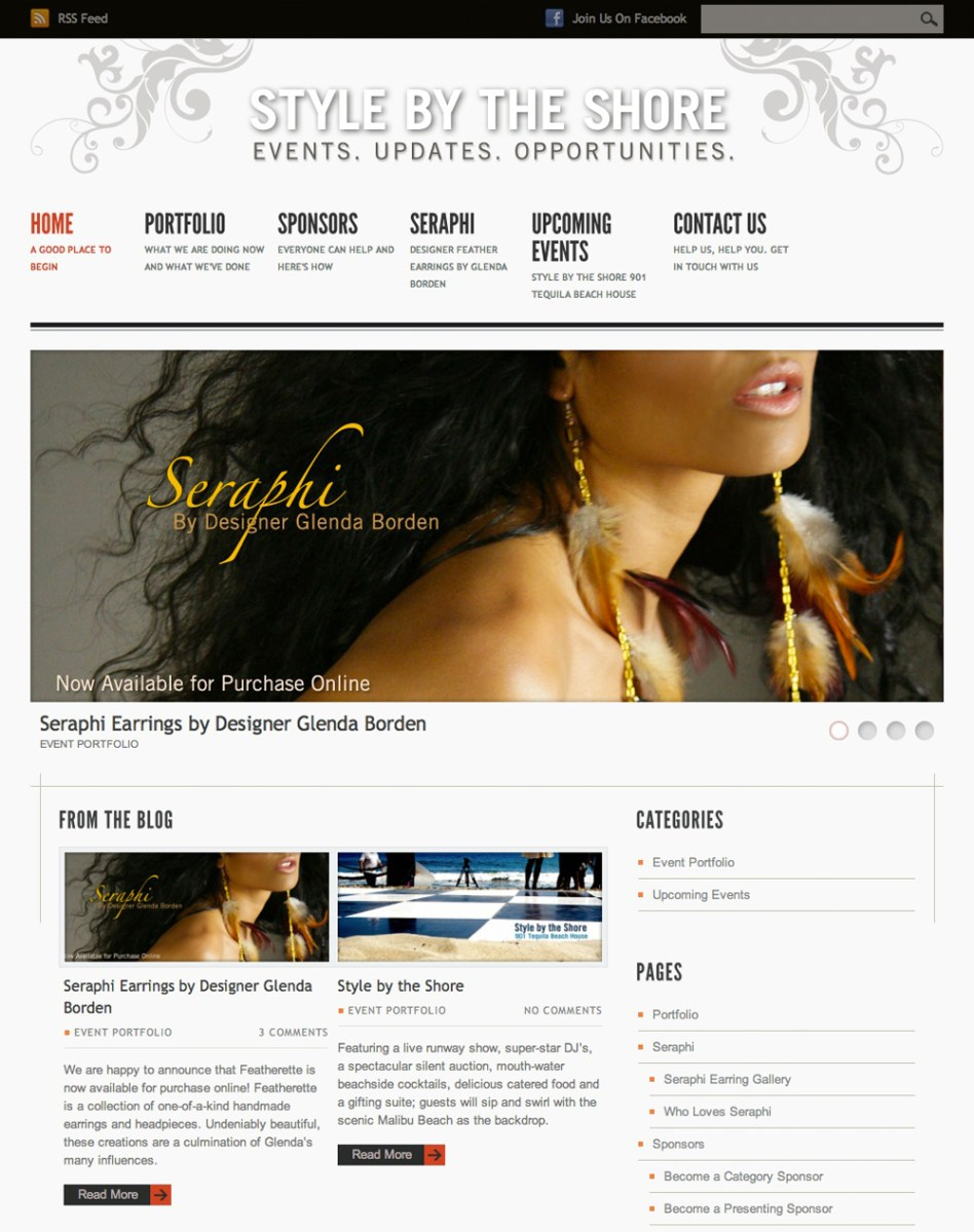 Style by the Shore Homepage