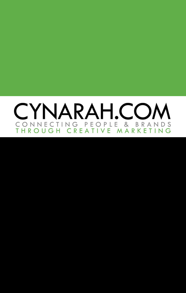 Cynarah Business Card Front