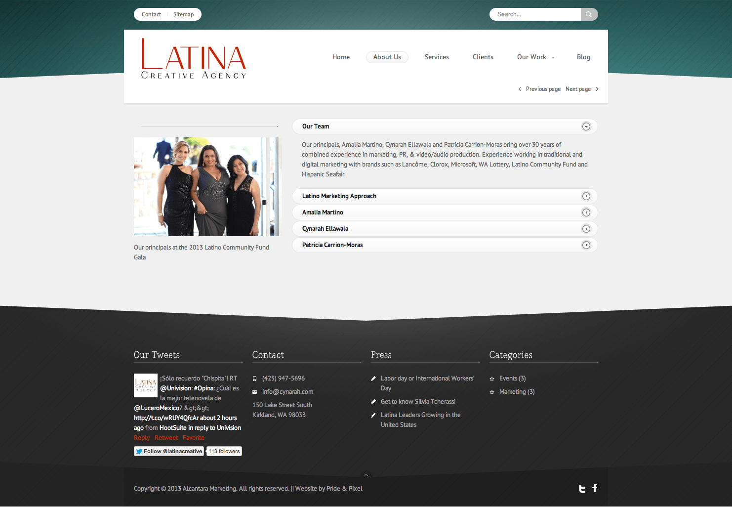 Latina Creative Agency About Us