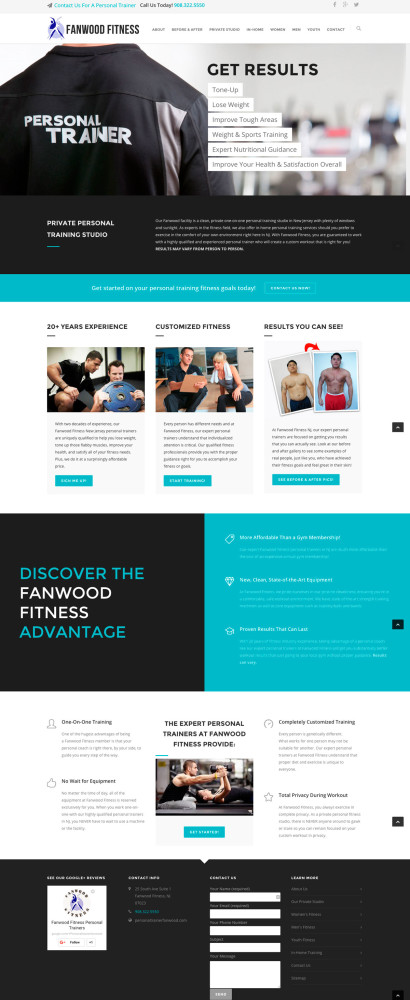 Fanwood Fitness Homepage