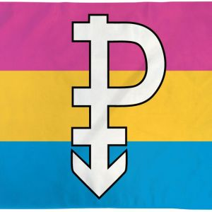 Pansexual Symbol Flag