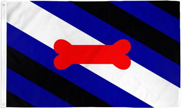 Puppy Pride Flag