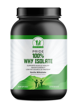 Pride 100% Why Isolate Vanilla 2lb