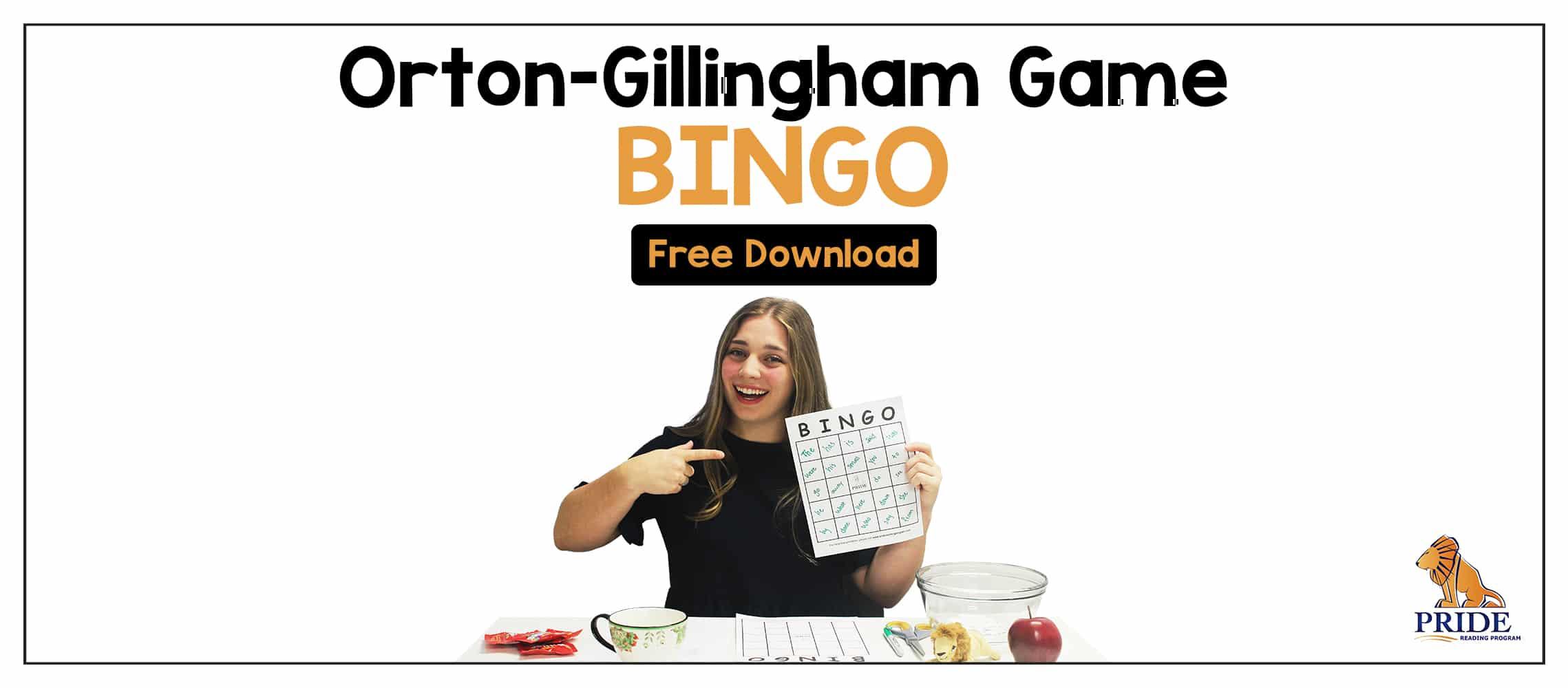 Orton Gillingham Game
