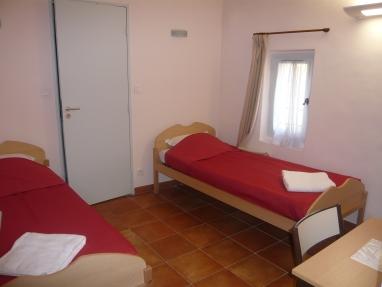 Chambre double avec salle de bains