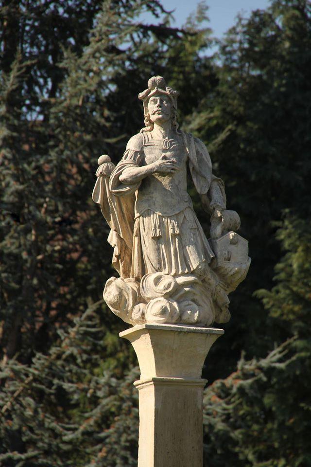 Statuta Sv. Florijana u križevačkom Gornjem gradu - foto: Zdenko Balog