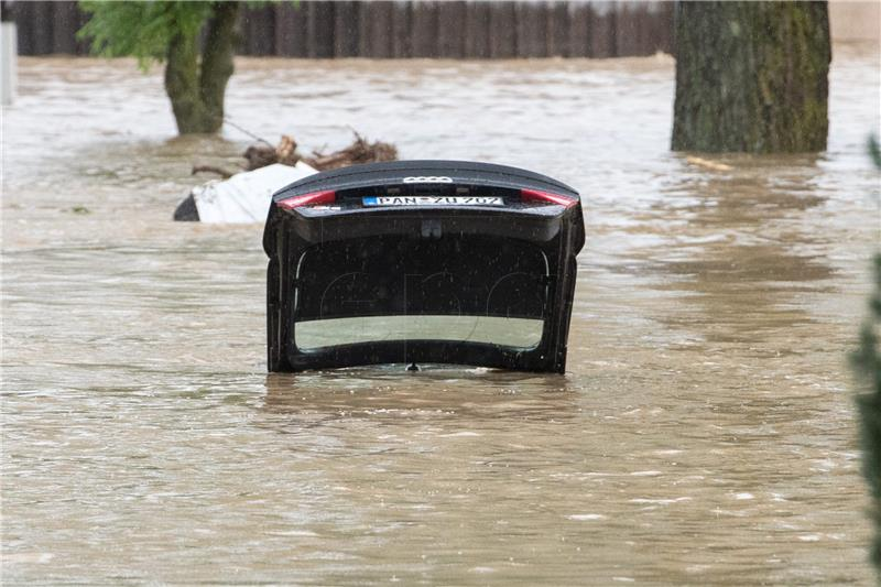 Njemačka odobrila 400 milijuna eura za poplave