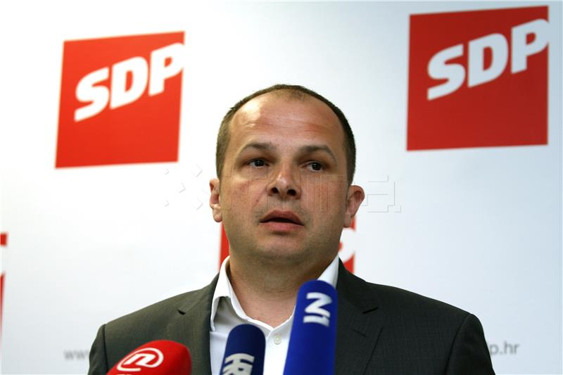 SDP-ov potpredsjednik Hajdaš Dončić hospitaliziran u Općoj bolnici Zabok