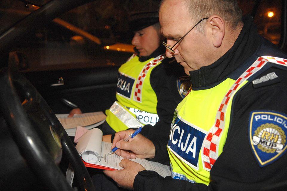 Bjelovarsko-bilogorska policija nastavila s pojačanim nadzorom prometnica