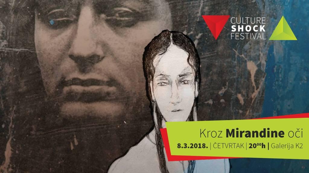 """KRIŽEVCI: Večeras otvorenje 14. Culture Shock Festivala """"Kroz Mirandine oči"""""""