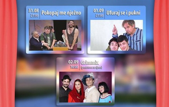 DANI SMIJEHA U KRIŽEVCIMA Oživljava se ljetno kino na otvorenom iza Gradske knjižnice Franjo Marković Križevci