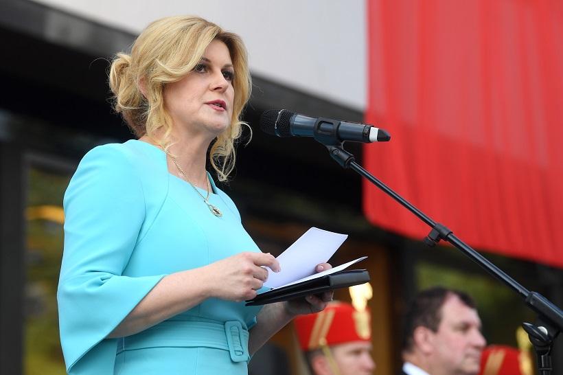 Grabar Kitarović počašćena što je spominju kao favoritkinju za NATO