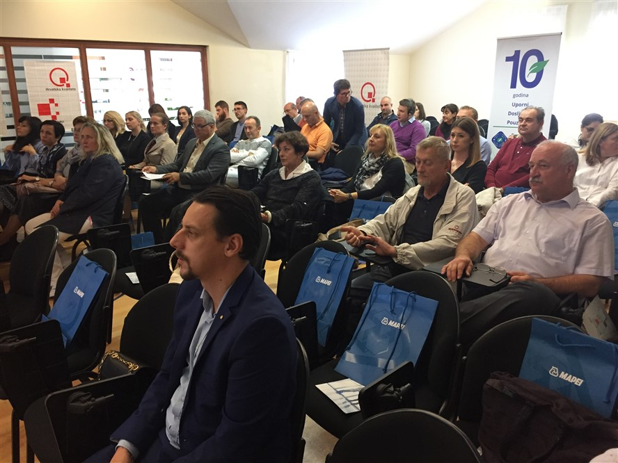 Kontinuirana edukacija o zelenoj i održivoj gradnji ključna za napredak i razvoj održana u Koprivnici
