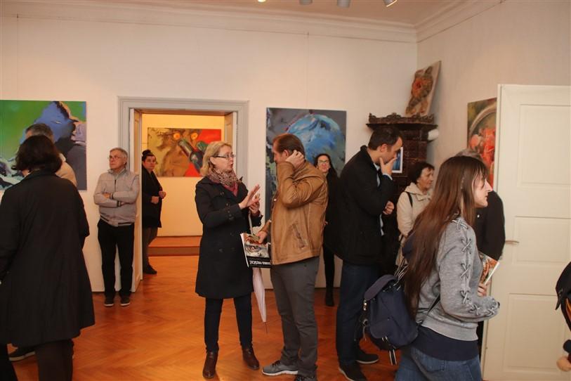 """[FOTO] """"3. otok doktora Moreaua"""" u Likovnoj galeriji u Križevcima"""