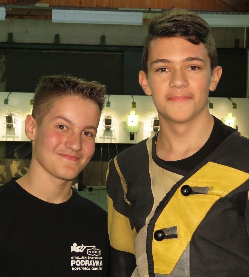 Članovi Streljačkog športskog kluba Podravka pozvani u juniorsku reprezentaciju