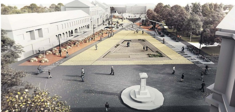 Objavljen novi izgled središta Koprivnice // Vrijednost rekonstrukcije oko 10 milijuna kuna