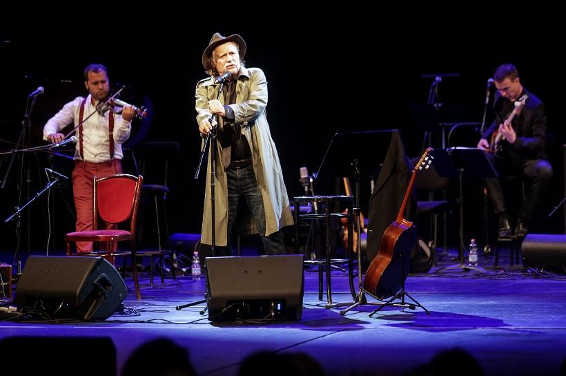 Rade Šerbedžija održao koncert u Hrvatskom narodnom kazalištu