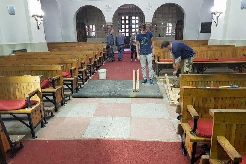 [FOTO] U tijeku radovi na župnoj crkvi Župe sv. Jurja mučenika iz Đurđevca
