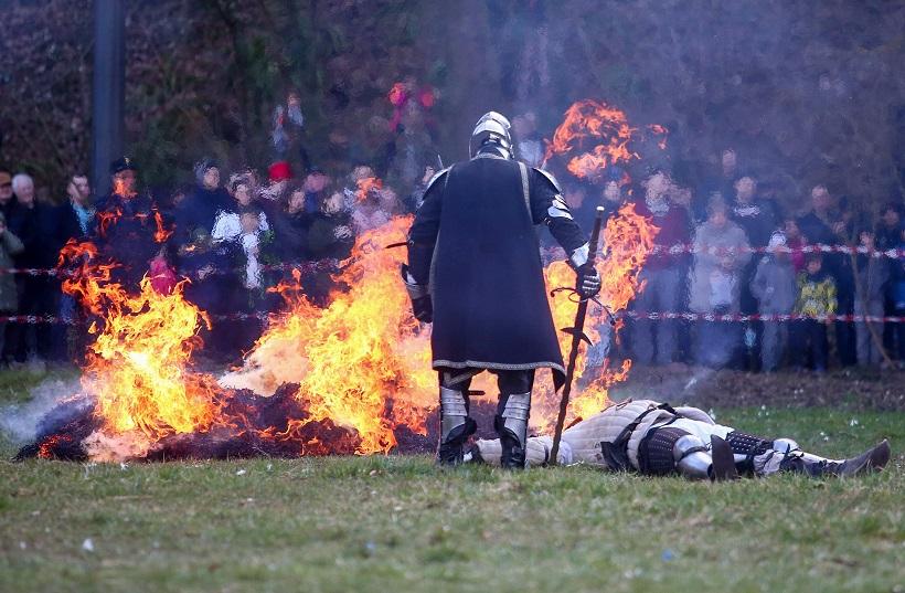 Na Vugrinščaku održana srednjovjekovna bitka za Samobor