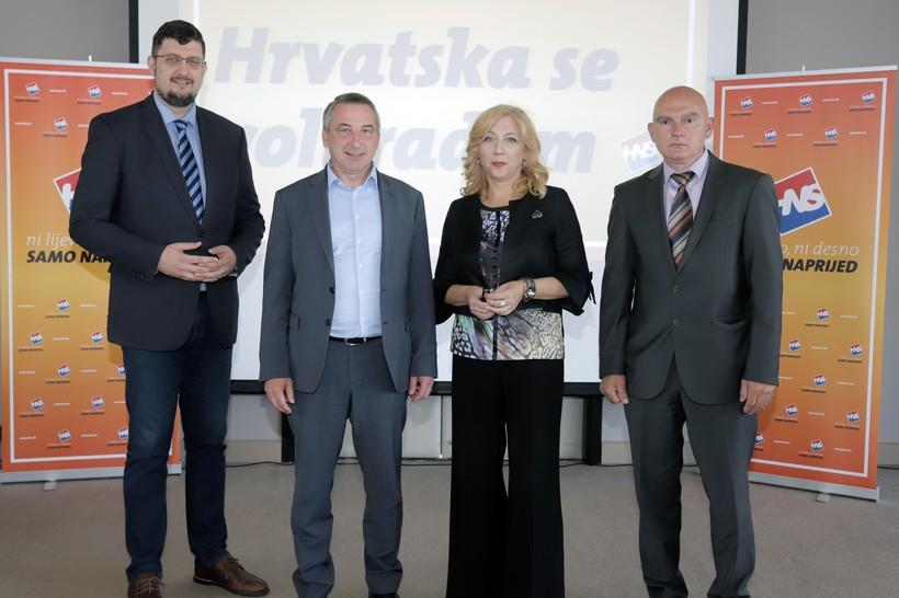 Predrag Štromar: 'Hrvatska se voli radom, naš program dovršit će građani'
