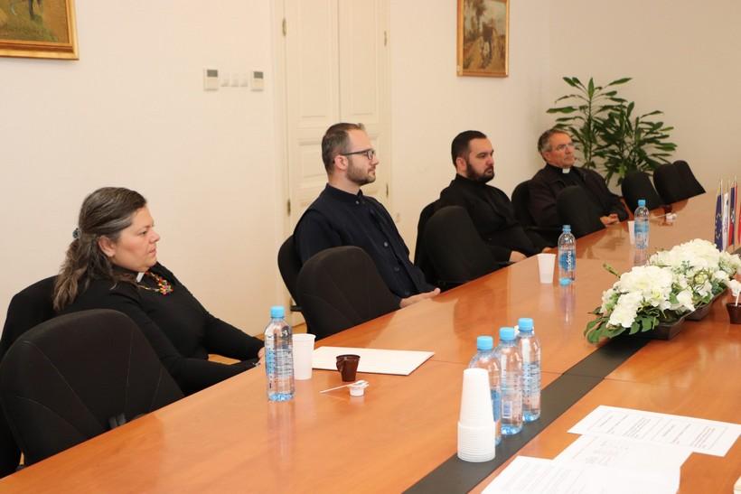 Župan Koren održao sastanak s predstavnicima grkokatoličke, evangeličke i pravoslavne vjerske zajednice