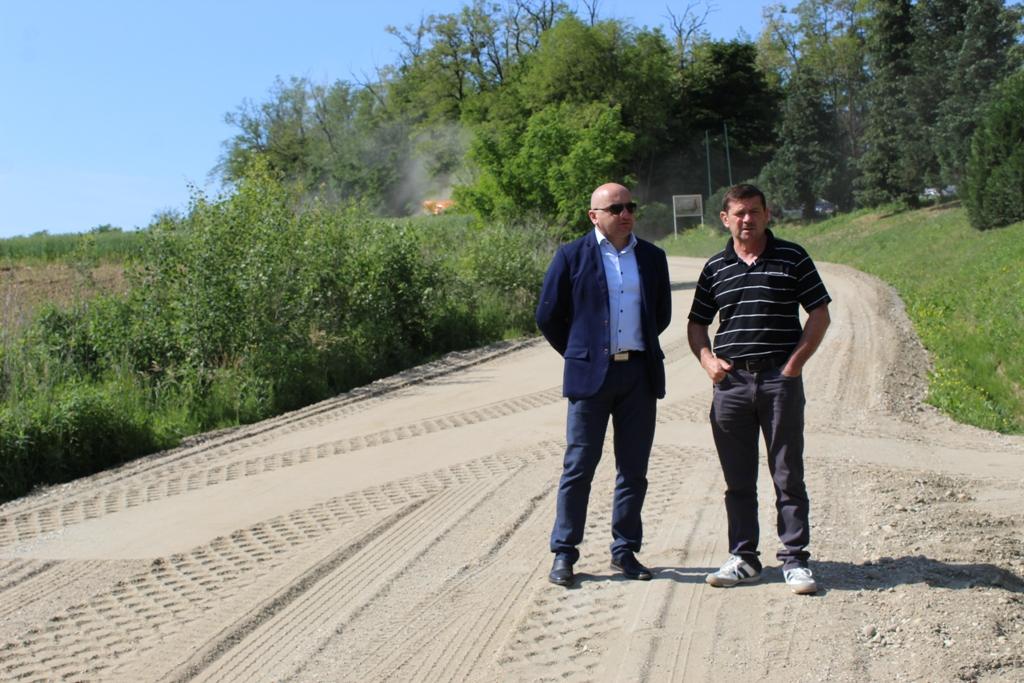 U tijeku je modernizacija 900 metara ceste u Ruševcu