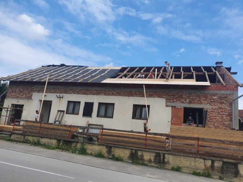 Počela obnova Društvenog doma u Gornjem Marinkovcu