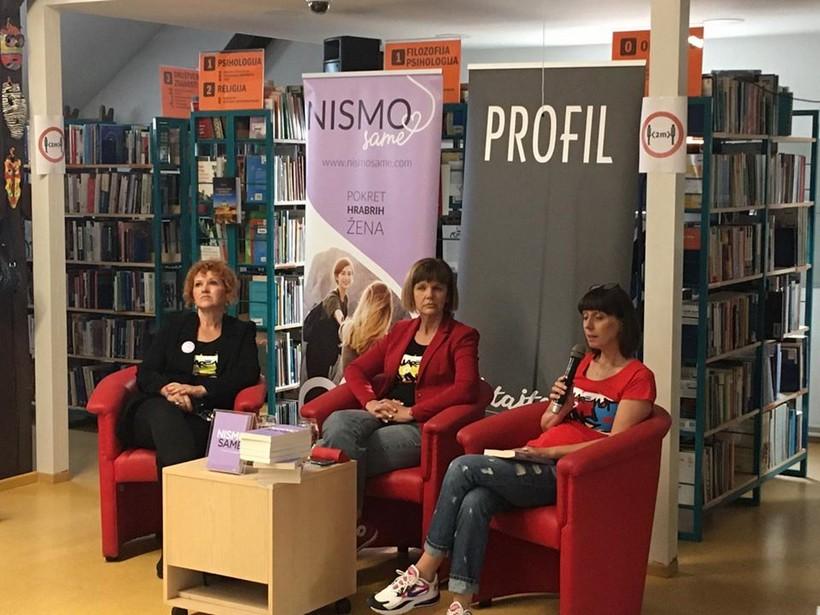 """U koprivničkoj knjižnici održano predstavljanje knjige intimnih ispovijesti žena oboljelih od raka """"Nismo same"""""""