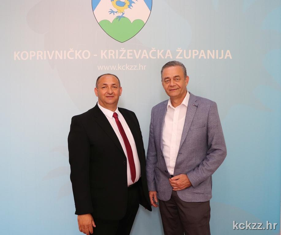Župan Darko Koren održao sastanak s Franjom Horvatom, predsjednikom županijskog Vijeća romske nacionalne manjine