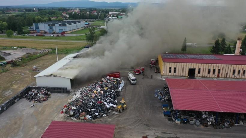 Policija utvrdila uzrok strašnog požara u kojem je 'nestalo' gotovo pola poduzeća
