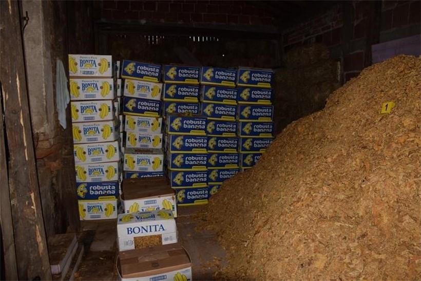 U kući 86-godišnjaka pronašli više od pet i pola tona duhana