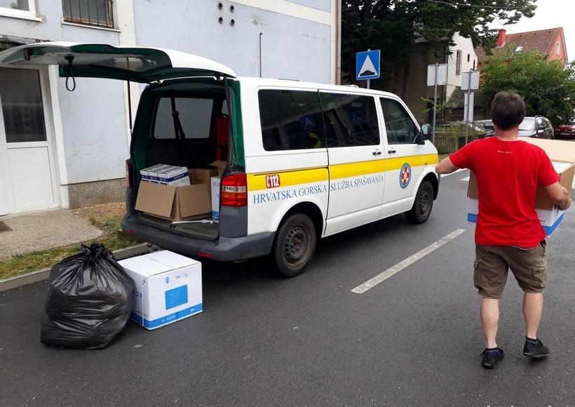 Pružateljima socijalnih usluga s područja Koprivničko-križevačke županije osigurao 36.000 komada različite zaštitne opreme