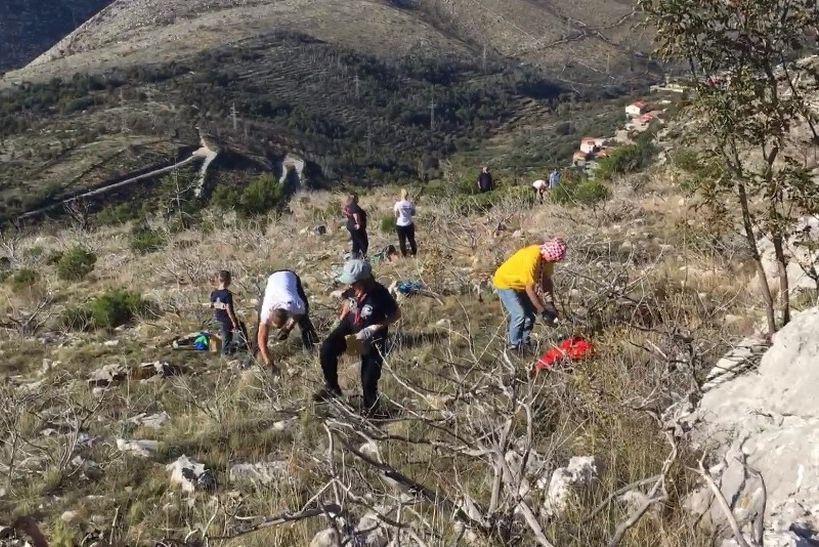 🎦 Oko 150 požrtvovnih volontera posadilo 3000 sadnica