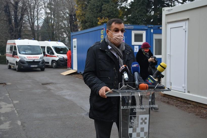 U Bjelovarsko-bilogorskoj županiji samo tri nova slučaja zaraze