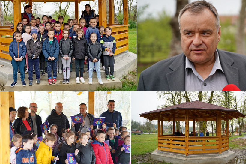 Na Sajmištu u Čazmi svečano otvoren paviljon; Gradonačelnik Pirak: Prostor Sajmišta sve je atraktivniji među Čazmancima