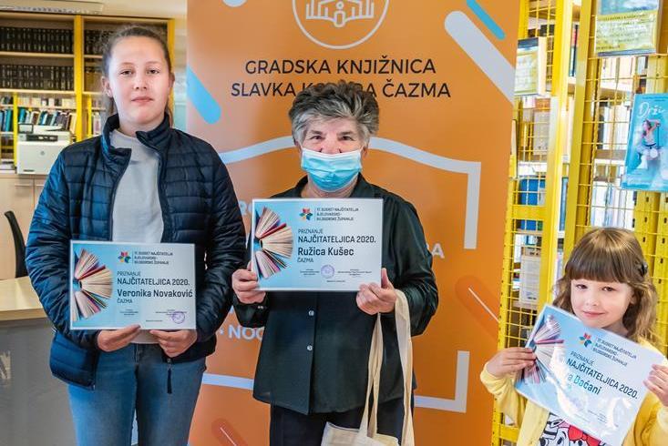 Povodom Dana hrvatske knjige proglašeni najčitatelji Bjelovarsko-bilogorske županije
