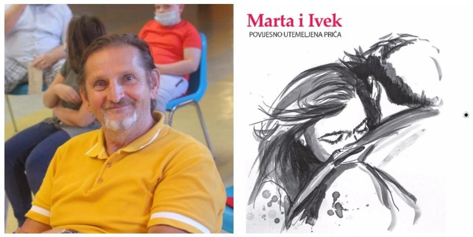 """Nova knjiga Josipa Petrlića Pjera """"Marta i Ivek – povijesno utemeljena priča"""""""