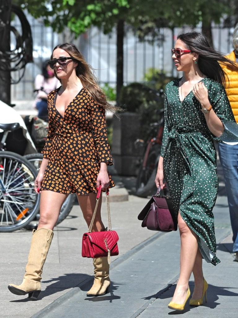 Djevojke zasjale u proljetnim haljinama