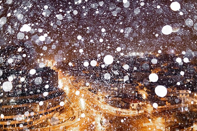 Snijeg zabijelio Split