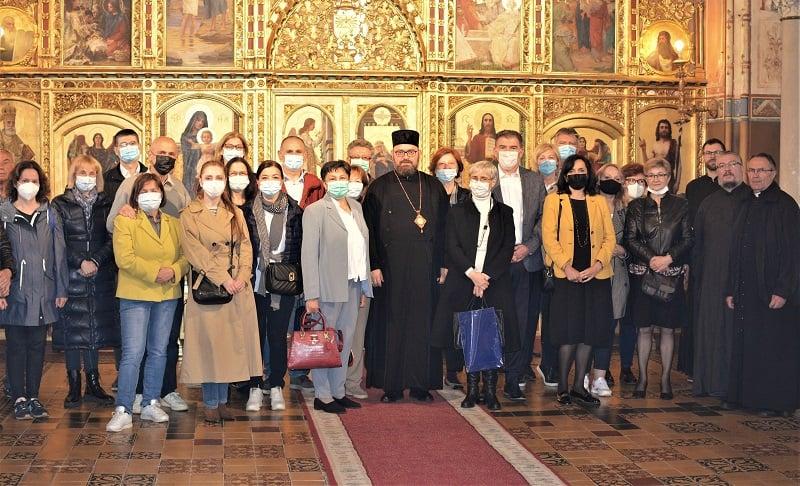 Članovi Hrvatskog katoličkog liječničkog društva pohodili grkokatoličku katedralu u Križevcima