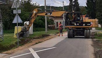 Počela gradnja novog autobusnog stajališta u Glogovcu