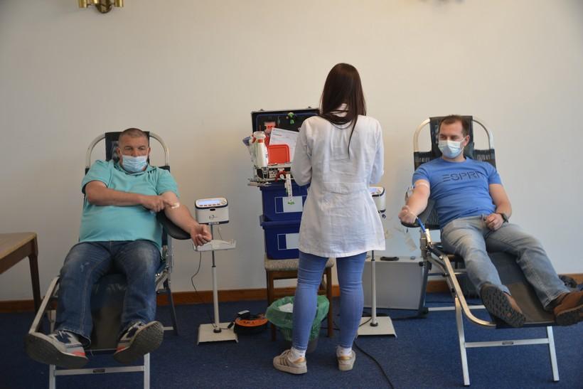 U Križevcima prikupljene 82 doze krvi, akcija se nastavlja u petak