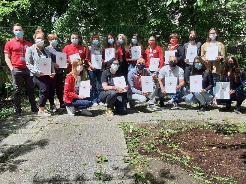 Djelatnica GDCK Križevci sudjelovala na edukaciji za koordinatore volontera HCK