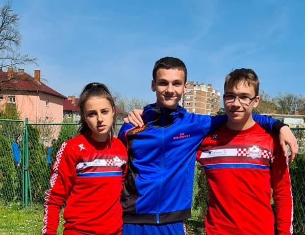 ATLETIKA – 6. atletski miting Varaždin // Dvije pobjede Veronike Drljačić