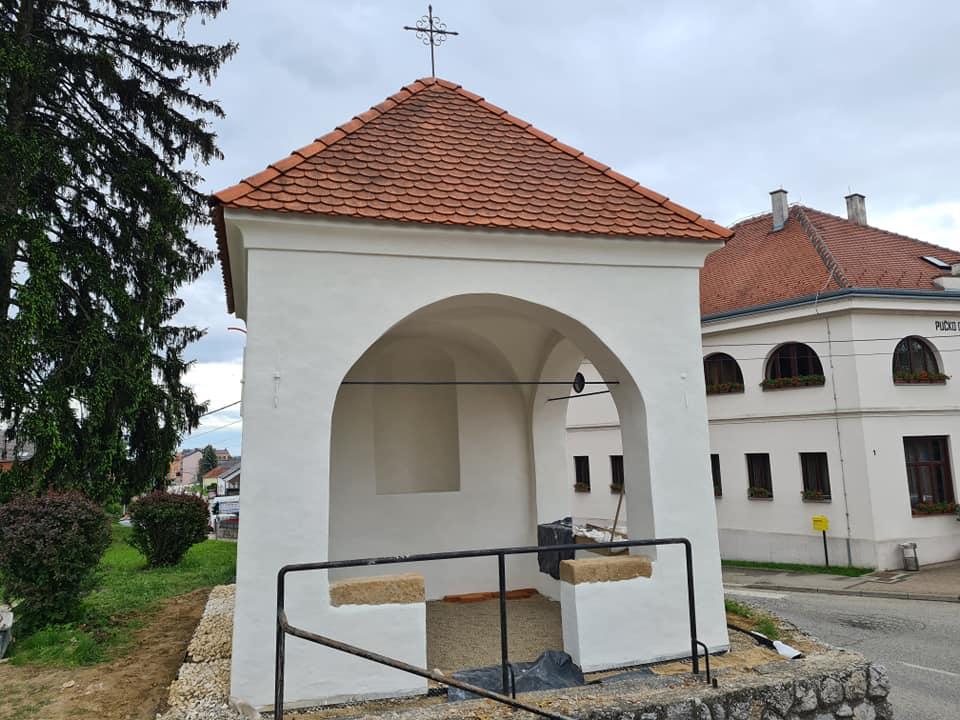 Završeni su radovi na rekonstrukciji kapelice Majke Božje Lurdske u Vrbovcu