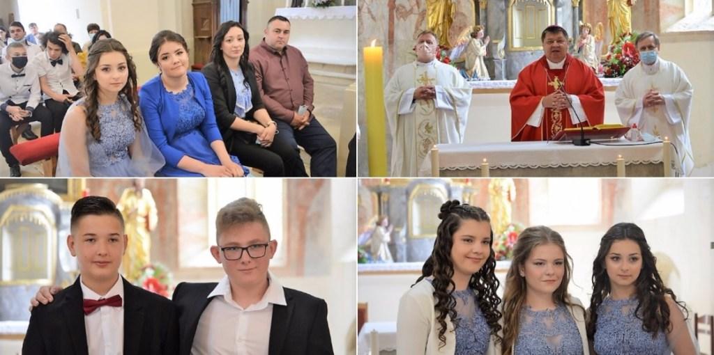 Mladi vjernici u Kalniku primili sakrament Krizme