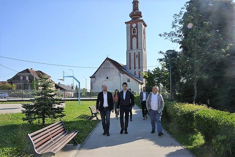 Karlo Ressler, zastupnik u Europskom parlamentu posjetio Općinu Dubrava